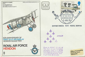 GB 1970 Special Flight Royal Air Force flown on a Sortie from Royal Air Force