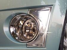 Chrome Fog Light Lamp Trim 2p for 2010 2012 Chevy Spark Matiz