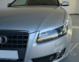 Fits Audi A4 B8 Pre Facelift (2008-2012) - Eye Brows Head Light Cover