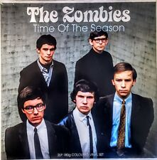 """THE ZOMBIES - TIME OF THE SEASON - 180 GRAM 2 LP SET BLUE VINYL """" NEW, SEALED """""""