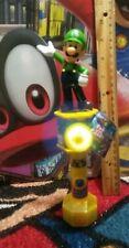 Super Mario Luigi fan with candy