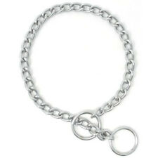 Dog Choke Chain Collar, All Sizes! Dog Pet Training Choke