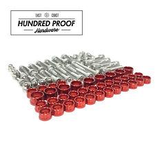 HUNDRED PROOF HARDWARE D Series Engine Bolt Kit Civic D15b D16z6 D16y8  [Red]
