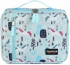 TEAMOOK Lunch Bag Insulated Lunch Box Cool Bag Adults Kids Unicorn School Work