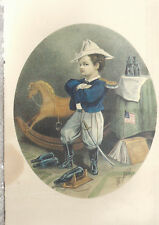 Light Artillery  by Thomas Nast 1863   Reprint Unused Postcard 2618