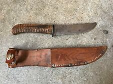 Vintage Ka-Bar Small Stag Handle Bowie Antler Union Cutlery Co Clean NY