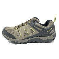 Merrell Outmost Vent Hiking Shoes Boulder Brown Green Men's Size 11.5 J09539