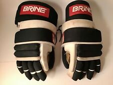 Brine LaCrosse Gloves L-35 Cuff Cowhide Palm