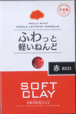 DAISO JAPAN SOFT CLAY RED 1 Pack New By SAL Free