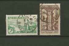 France 1935 2 timbres oblitérés Y&TN°301 & 302 /TR5542