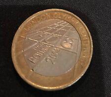 Rare £2 GBP coin - London Olympic Centenary