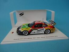 PORSCHE 911 GT3 RGT 997 #25 ROMAIN DUMAS RALLY GERMANY 2015 1/43 NEW SPARK SG225