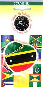 St Kitts heart car Air Freshener