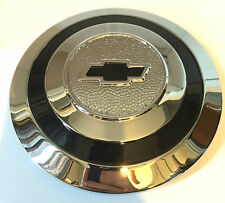 "Chevrolet Chevy Wire Wheel Type Chrome Hubcap 6.5"" Outside Diameter 1930-1934"