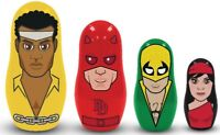 Marvel Hidden Heroes Nesting Dolls Luke Cage Daredevil Iron Fist Elektra