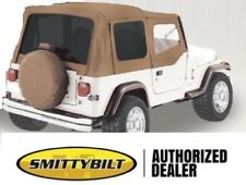 Soft Top For Half Doors Spice Replacement Top 9870217 88 95 For Jeep Yj Wrangler Fits 1994 Jeep Wrangler