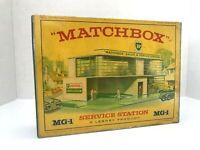 Matchbox Lesney Product  / MG-1 SERVICE STATION BP / Empty Repro Box