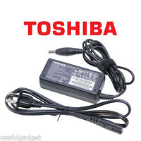Original OEM Toshiba 45W-65W AC Charger Adapter Cord For Satellite C55D series