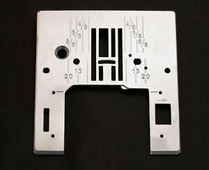 JANOME SEWING MACHINE NEEDLE PLATE (756008) - No Brackets