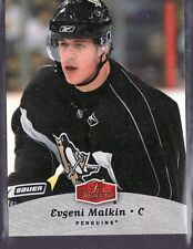2006-07 EVGENI MALKIN FLAIR SHOWCASE ROOKIE CARD