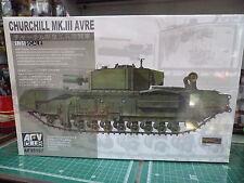 AFV 35167 - Churchill Mk.III AVRE 1/35 scale AFV CLUB