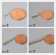 14 38 12 34 1 Length Magnetized Bar Rare Earth Neodymium Magnet N45n52