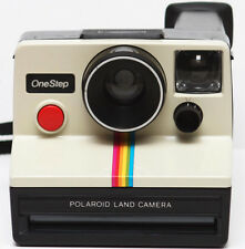 Polaroid One Step Rainbow Classic SX-70 Film Land Camera 1970s Fully Operational