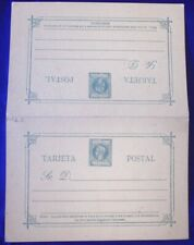 Mayfairstamps Philippines 1899 1c Mint Postal Stationery Reply Card wwg10879