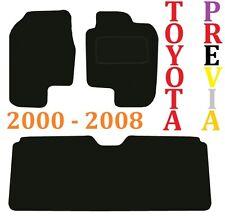 2000-2008 TOYOTA PREVIA Deluxe qualità su misura tappetini auto