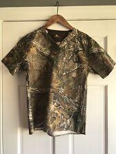 47182fc20e1 Carhartt Realtree Camo Scrub Top Shirt Mens XS