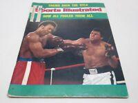 Sports Illustrated Magazine November 11, 1974 Muhammad Ali Cover