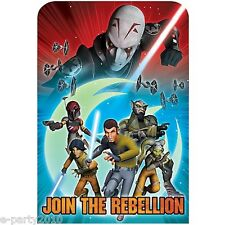 Star Wars Rebels Invitations (8) ~ Birthday Party Supplies Stationery Cards Note