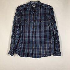 Gander Mountain Plaid Thick Flannel Shirt Men Button Front Warm L/S Winter Sz XL