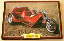 Tío Colorido VW Trike Custom Vintage Retro Clásico Moto Bicicleta Foto Impresión 1979