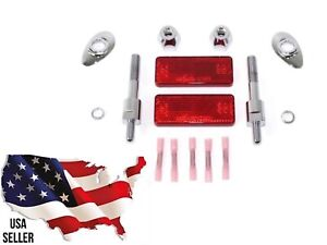 DIRECTIONAL TURN SIGNAL RELOCATION KIT 53968 06C HARLEY DYNA WIDE GLIDE 10-2017