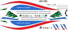 1/144 Middle East Airlines A321 Decals