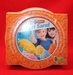 Maro Toys/ Angel Sand/ 0,4 Liter/ Magischer Sand/ 2+/ OVP/ Orange