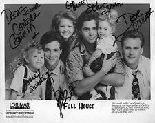 Full House Cast Signed 8x10 Autographed Photo Reprint