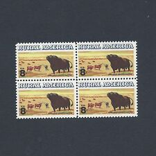 Black Angus Cattle - Vintage Mint Set of 4 Stamps 44 Years Old!