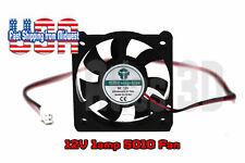 12V 50mm Cooling Fan 50x50x10mm DC Computer Case 3D Printer 5010 2-Pin 9.8 CFM