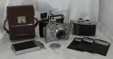 Plaubel Makina IIIR Medium Format Camera Outfit w/ Accessories