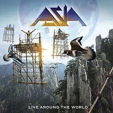 ASIA - LIVE AROUND THE WORLD 2 CD NEU