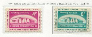 19029) United Nations (New York) 1959 MNH General Assembly
