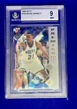 1995-96 Upper Deck SP Kevin Garnett Rookie Card RC #159 Graded BGS 9 Mint