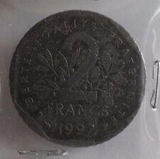 2 francs semeuse 1997 avec point : B : pièce de monnaie française