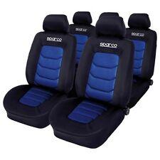 SPC1019AZ Set Di Coprisedili fodere foderine Sparco Blu-Nero Comp. Con Airbag,