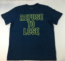 Old Navy Refuse To Lose T-Shirt Dark Blue Sz Med