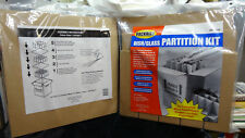 New listing 2 New Dish & Glass Pack Partition Kits - Kitchen Boxes Cell Partitions Dividers