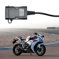 USB Motorcycle Mobile Phone Power Supply Charger Waterproof Port Socket 12V