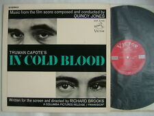 PROMO LABEL / OST IN COLD BLOOD QUINCY JONES / JAPAN LAMINATED COVER